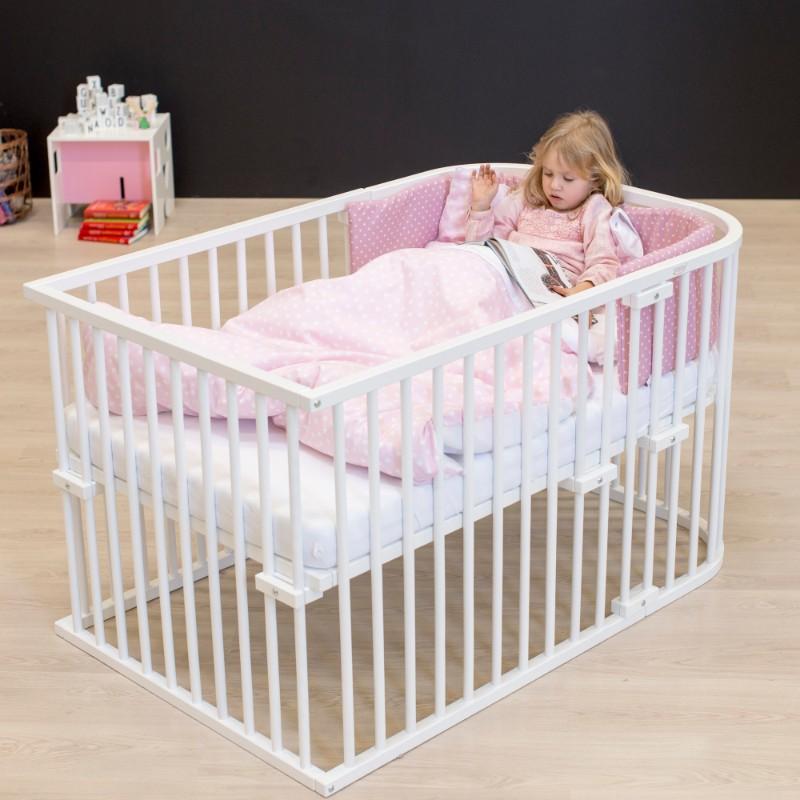 Kit de conversion en lit bébé pour berceau Cododo Original Babybay en situation enfant