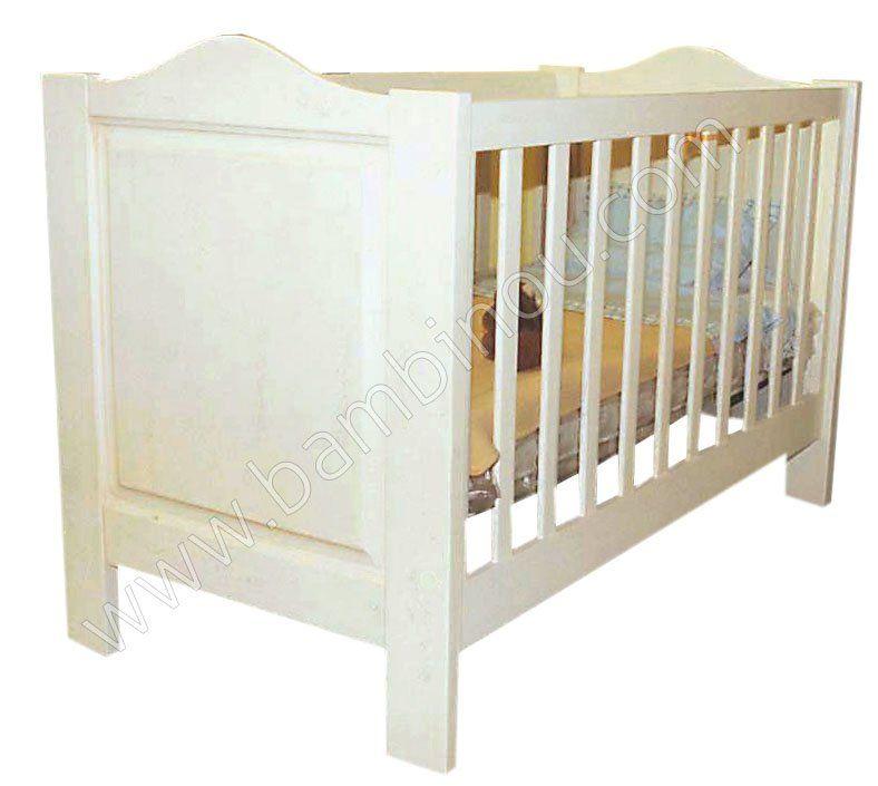 Meubles de la chambre bébé Dominique : lit, commode..