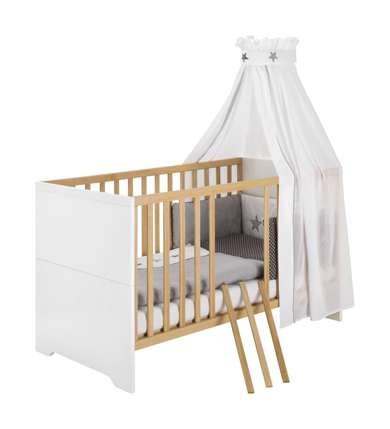 Chambre Coco Blanc Lit Kit-Transformation Commode Schardt 4