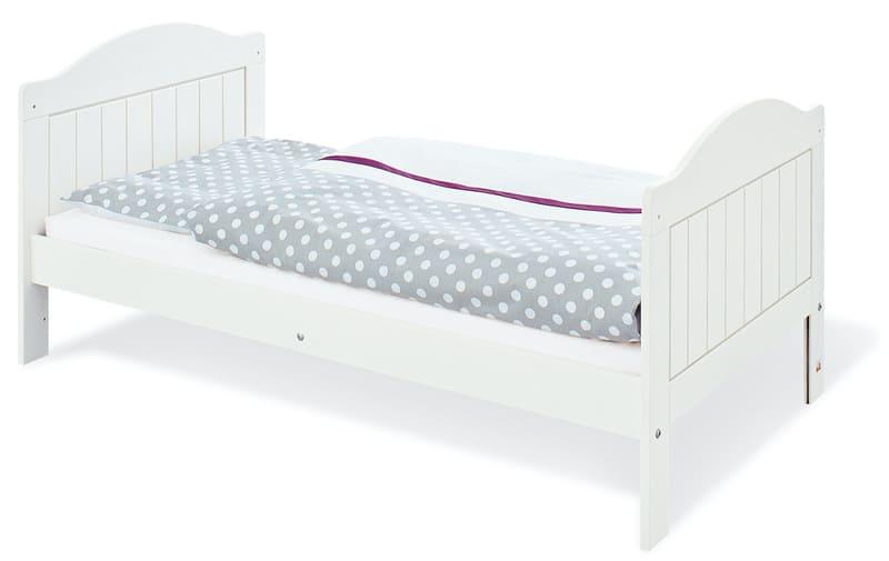 Chambre bébé Nina blanc: Lit, commode, armoire Pinolino Junior