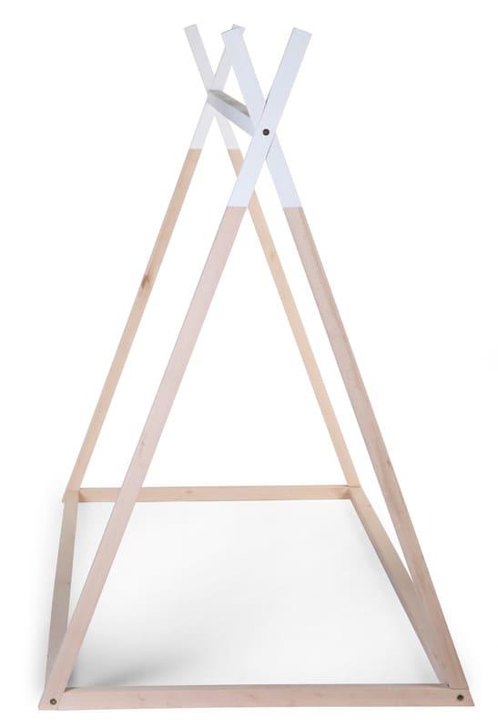 Lit enfant Tipi 90 x 200 cm Naturel/Blanc Childhome Détail