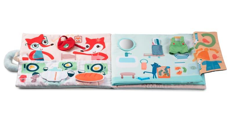 Livre d'activités Bonjour Petit Renard Lilliputiens Illustrations