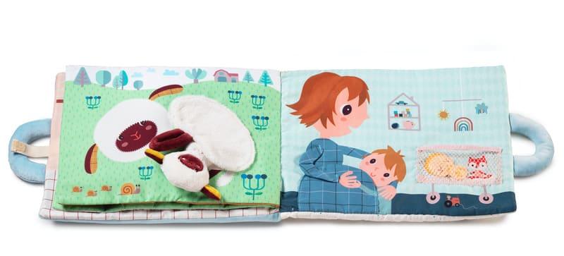 Livre d'activités Baby Boom Lilliputiens Pages