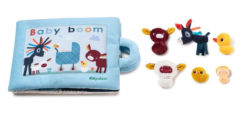 Livre d'activités Baby Boom Lilliputiens Perosnnages