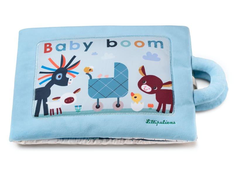 Livre d'activités Baby Boom Lilliputiens Produit