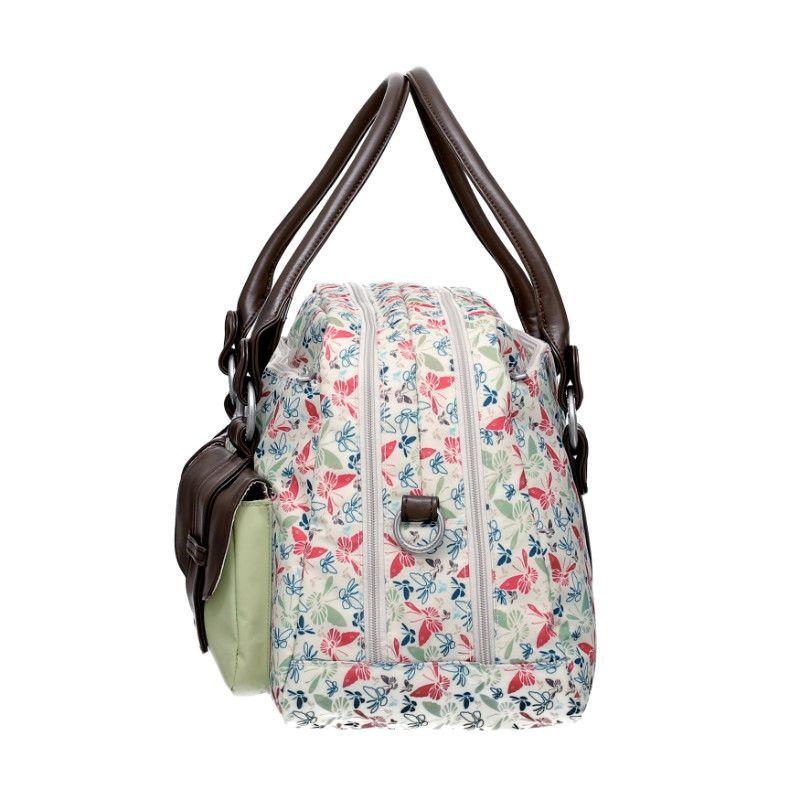 Sac a langer Vintage Metro Bag Butterfly Spring LASSIG BamBinou