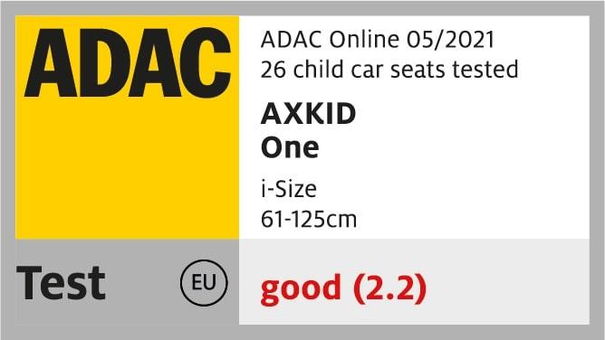 Siège-auto One i-Size groupe 0+/1/2 Tar noir Axkid ADAC