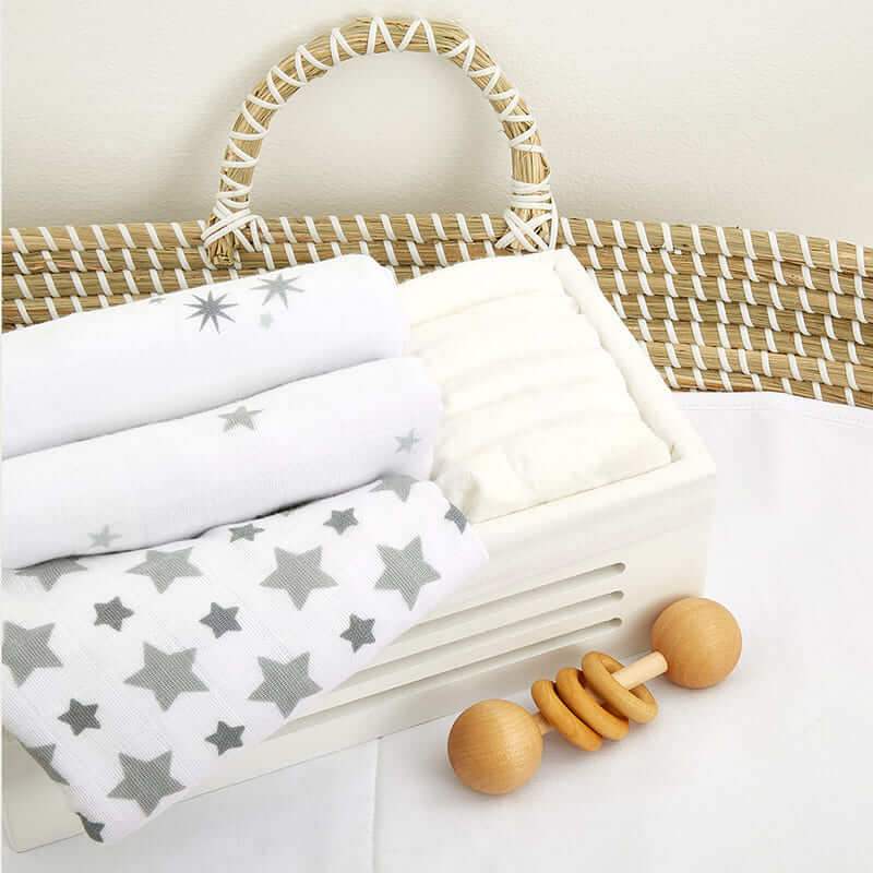 Lot de 3 langes Musy Twinkle Aden + Anais Ambiance