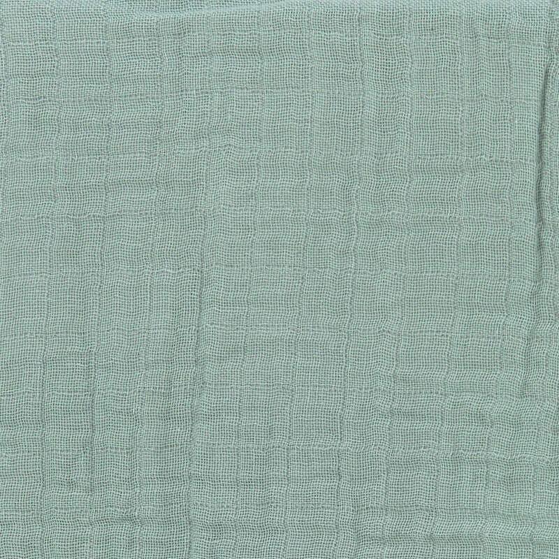 Lot de 3 langes Vert / Bleu marine / Moutarde 85 x 85 cm Lassig Vert
