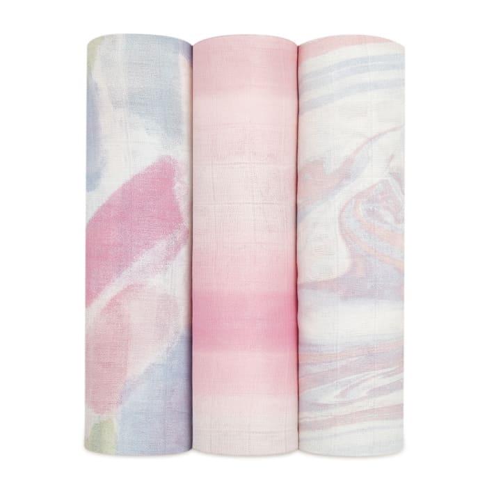 Lot de 3 maxi langes Silky Soft 120 x 120 cm Florentine Aden + Anais Produit