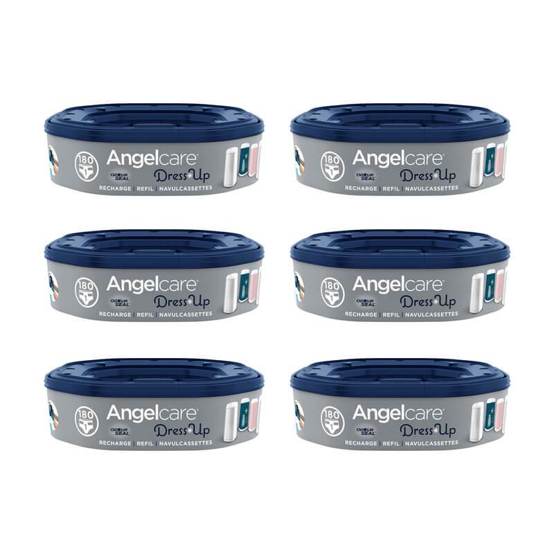 Recharges octagonales pour poubelle à couches Dress Up Angelcare Set