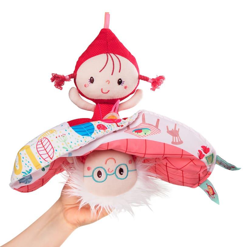 Marionnette réversible Chaperon Rouge Lilliputiens 2