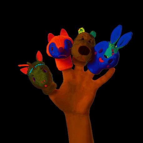 Marionnettes à doigts Fôret Lilliputiens 2