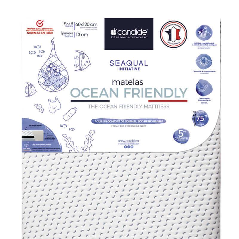Matelas Ocean Friendly déhoussable Candide Détail