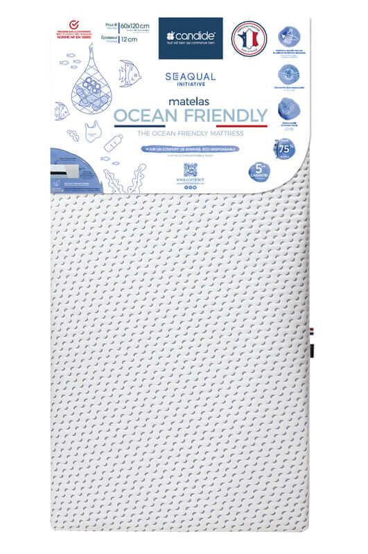 Matelas Ocean Friendly déhoussable Candide Produit