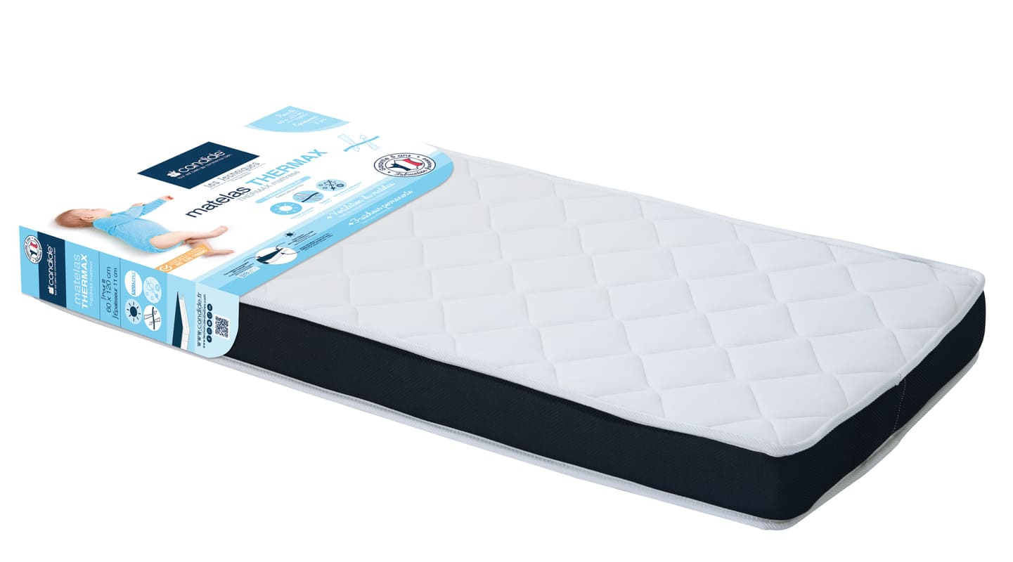 Matelas Thermax 60 x 120 cm Candide 1