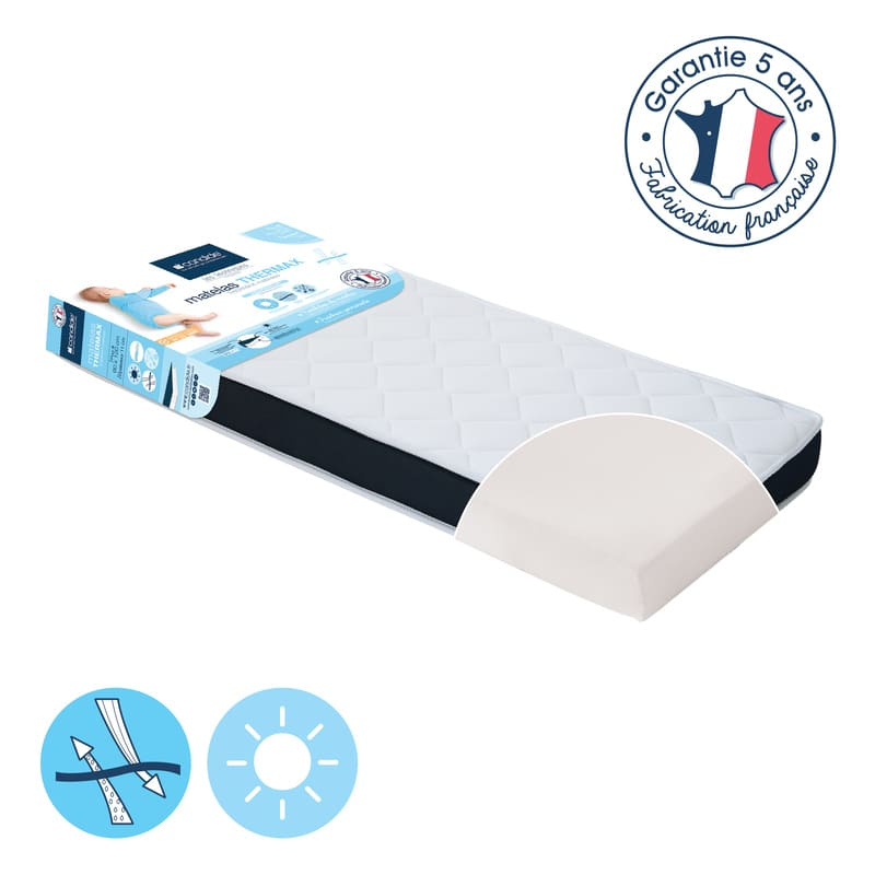 Matelas Thermax 60 x 120 cm Candide 2