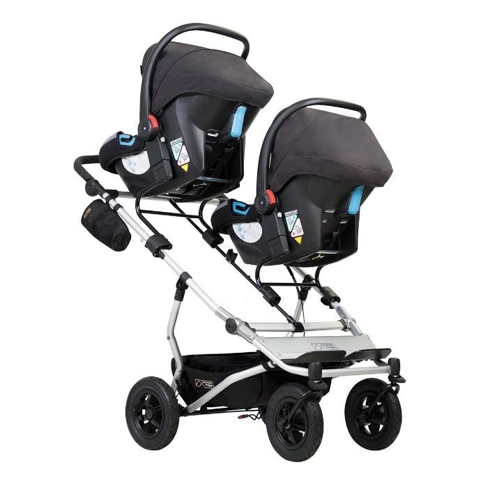 Adaptateurs Clip 31 coque 0+ pour poussette Duet 2 enfants Mountain Buggy avec sièges-auto