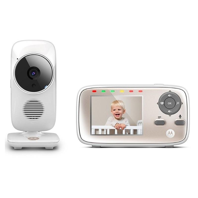 Moniteur vidéo connecté MBP 667 Motorola vue de face