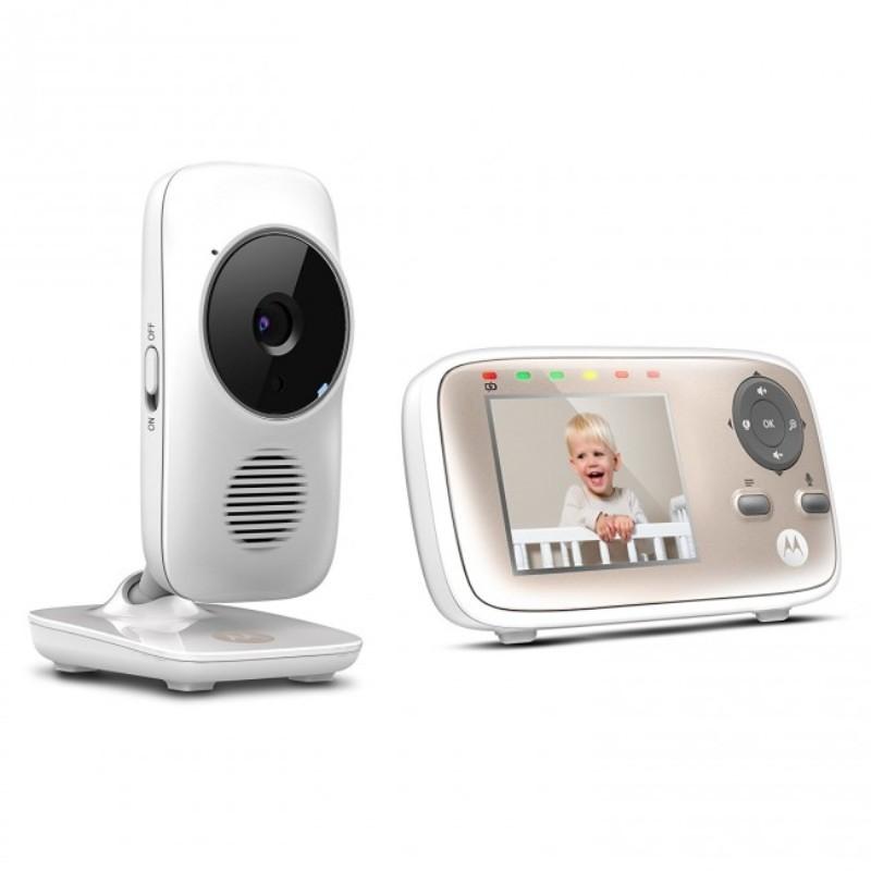 Moniteur vidéo connecté MBP 667 Motorola vue de 3/4