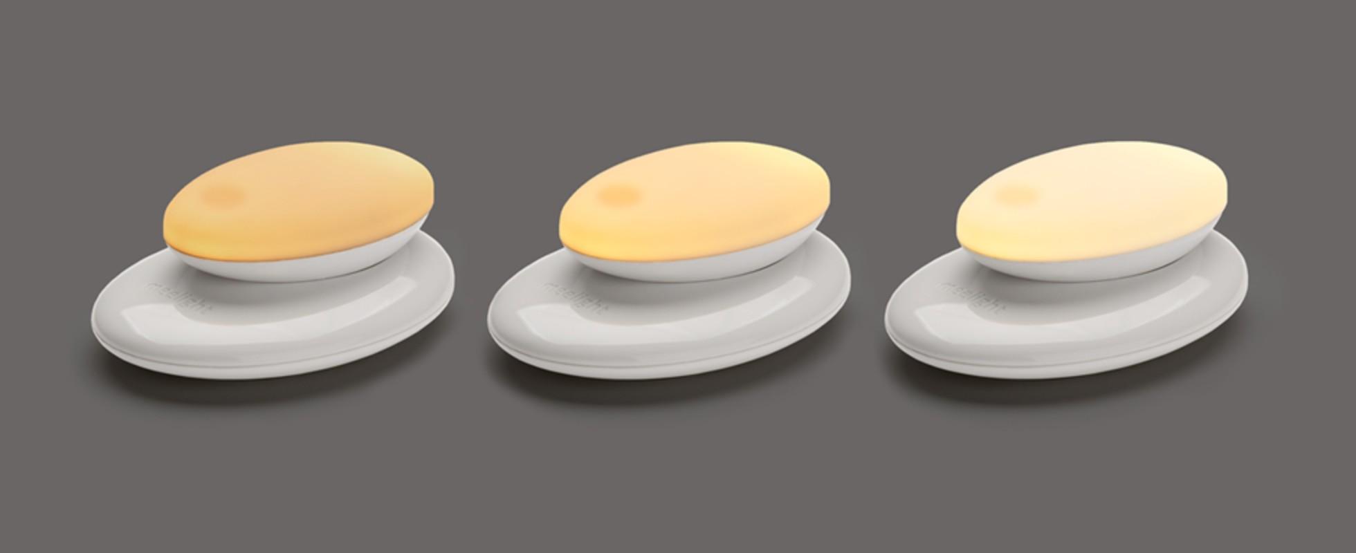 Veilleuse portative Meelight Meemoobaby différentes luminosités