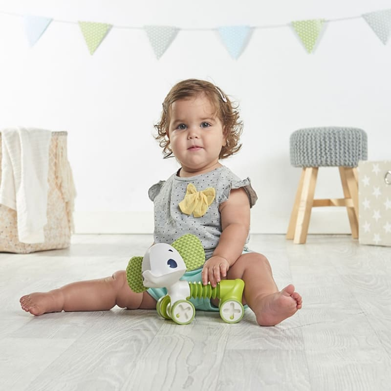 Mini-jouet à roulettes Tiny Rolling Samuel l'éléphant Tiny Love Bébé