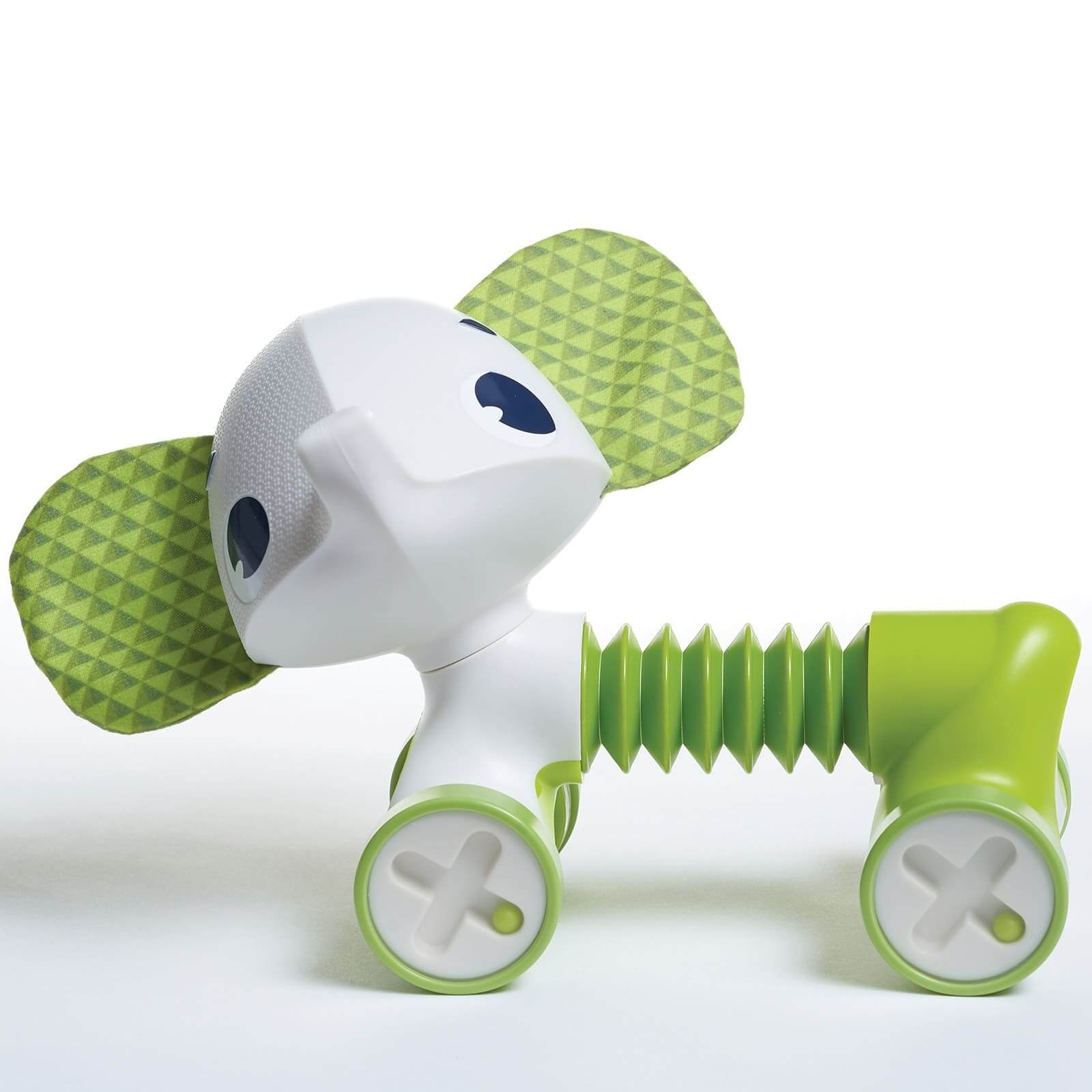 Mini-jouet à roulettes Tiny Rolling Samuel l'éléphant Tiny Love Détail