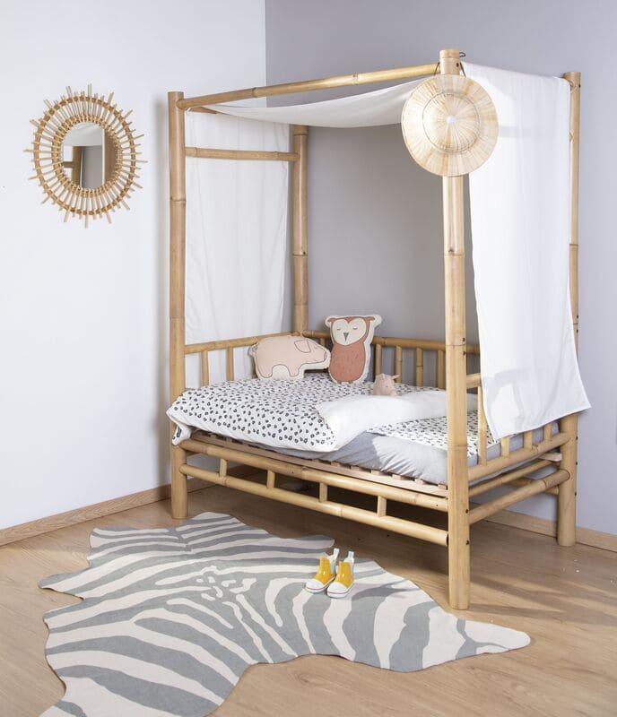 Miroir en rotin Fondi 60 cm Childhome Chambre