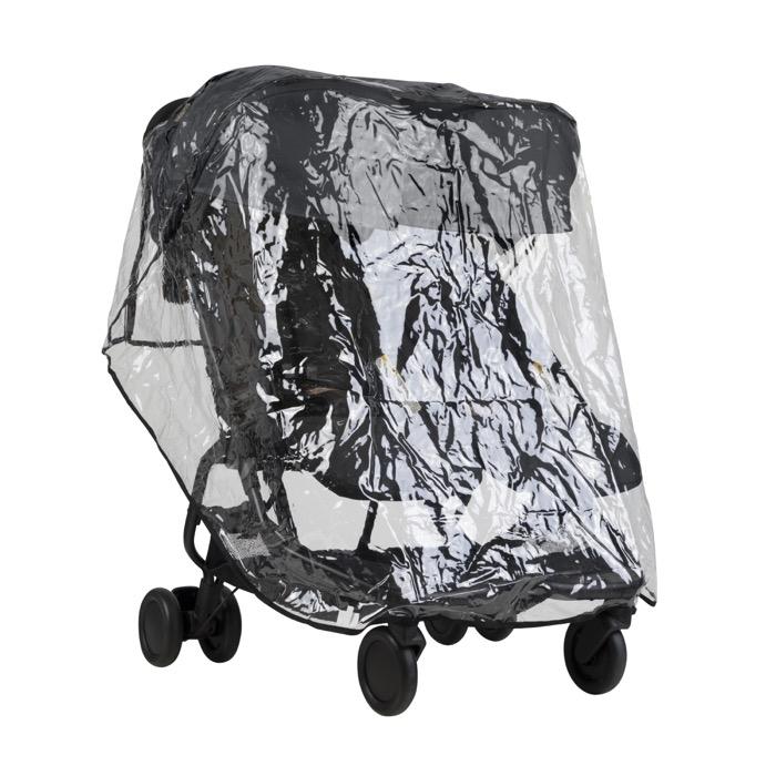 Protection pluie pour poussette double Nano Duo