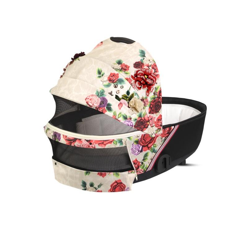 Nacelle Luxe poussette Mios édition spéciale Spring Blossom Light Cybex ouverture