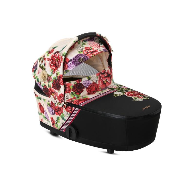 Nacelle Luxe poussette Mios édition spéciale Spring Blossom Light Cybex visière