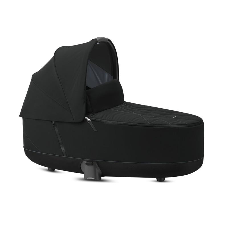 Nacelle de Luxe poussette Priam premium black Cybex