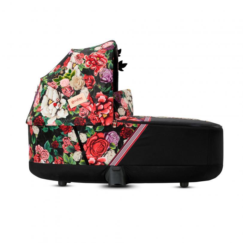 Nacelle luxe poussette Priam édition spéciale Spring Blossom Dark Cybex