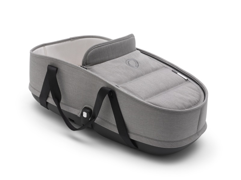 Nacelle poussette Bee 5 collection Mineral gris clair Bugaboo