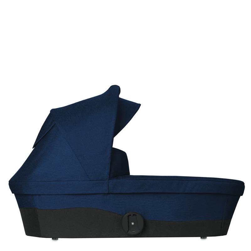 Nacelle poussette Melio Navy Blue Cybex de côté