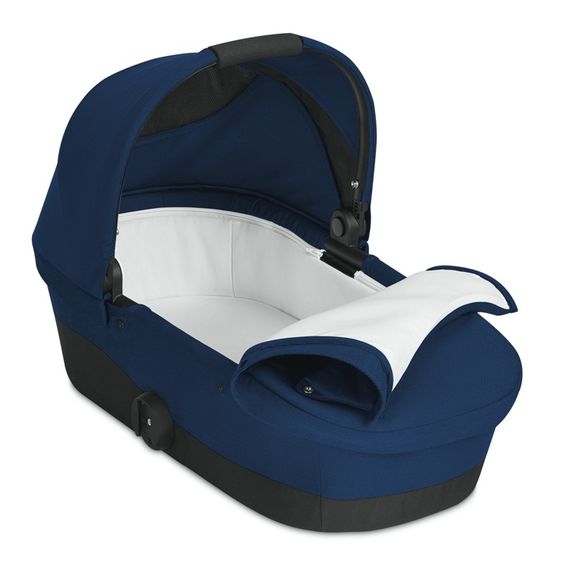 Nacelle poussette Melio Navy Blue Cybex intérieur