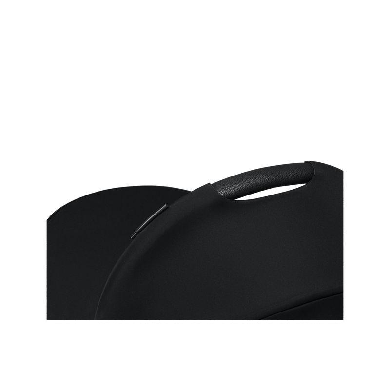 Nacelle Luxe poussette Mios 2019 Premium Black poignee Cybex BamBinou
