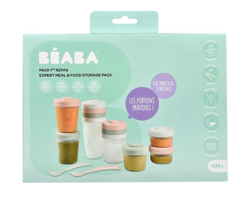 Pack 1er repas Béaba Packaging