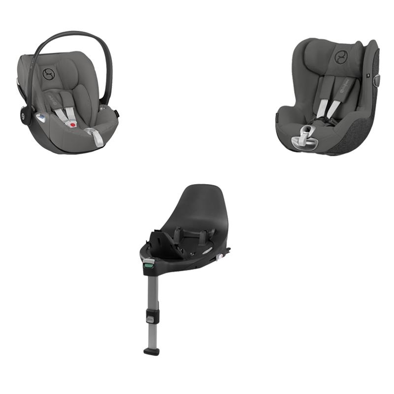 Pack Cloud Z i-Size 2020 + Sirona Z i-Size 2019 + base Z Cybex
