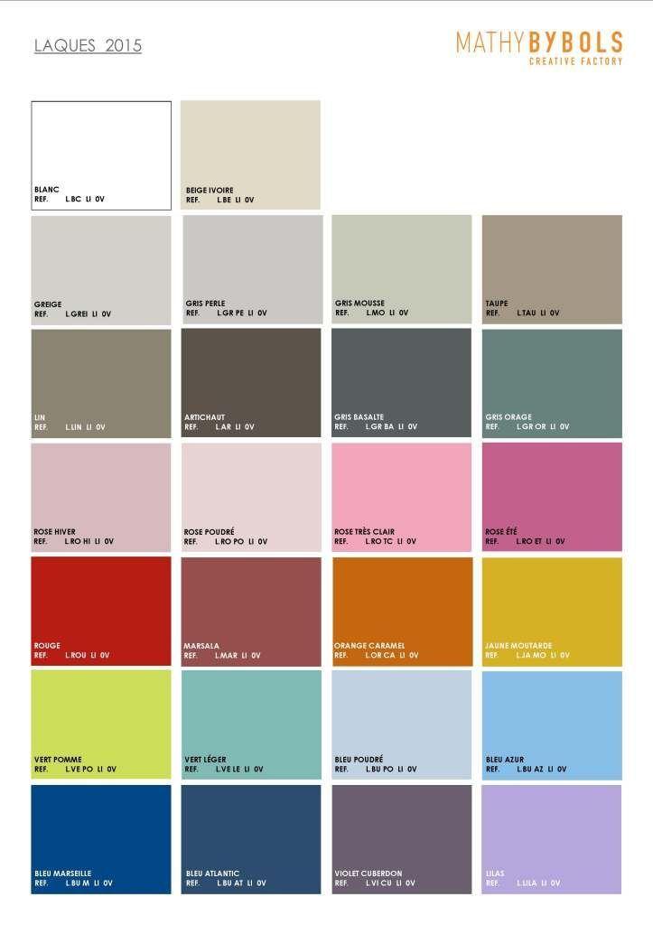 Palette des couleurs lasures Mathybybols BamBinou