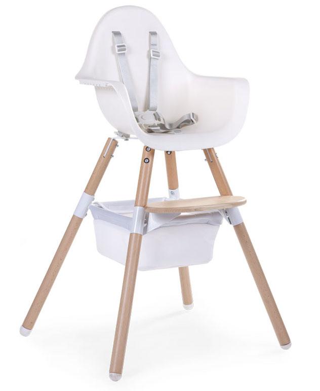 Panier de rangement pour chaise haute Evolu Childhome 2