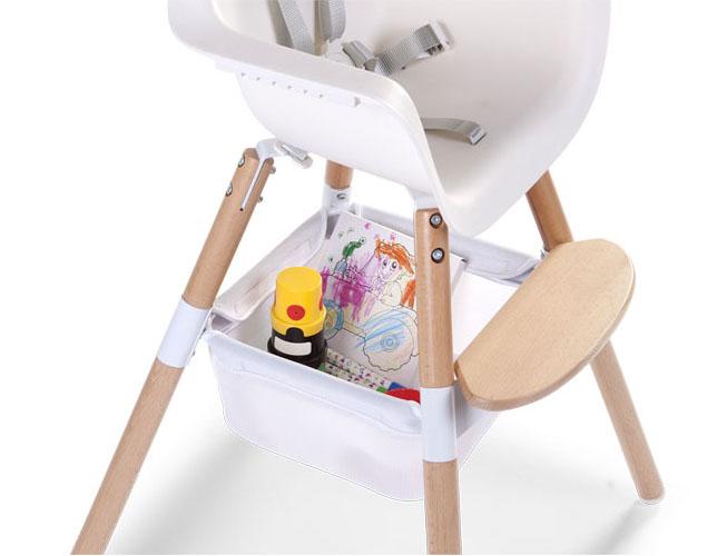 Panier de rangement pour chaise haute Evolu Childhome 3