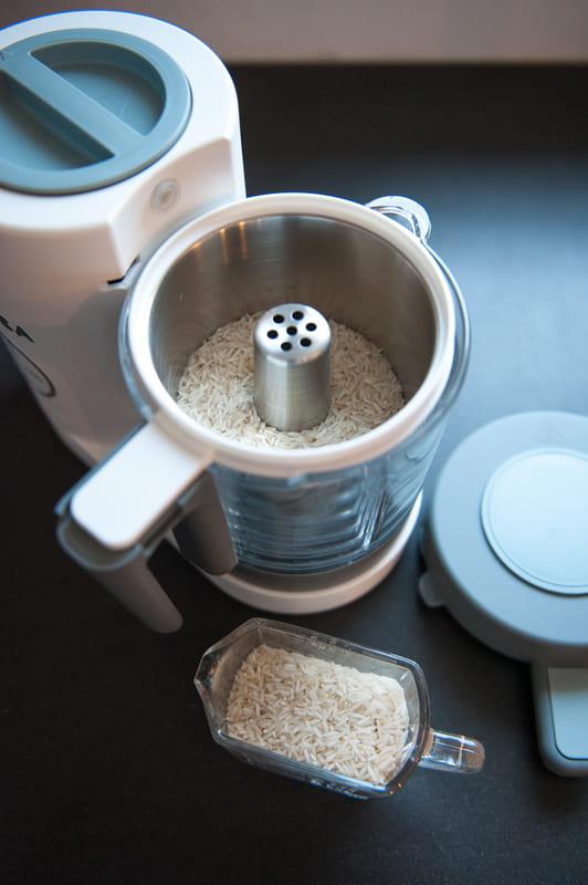 Panier de cuisson pâtes et riz Babycook Néo Béaba Ambiance