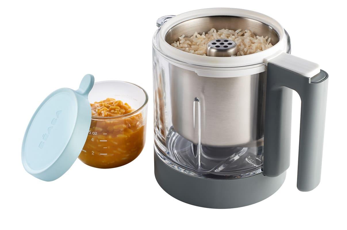Panier de cuisson pâtes et riz Babycook Néo Béaba Couvercle