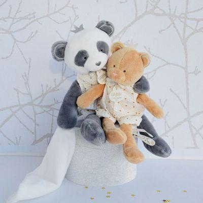 Pantin avec doudou Panda Attrape-rêves Doudou et Compagnie Ambiance