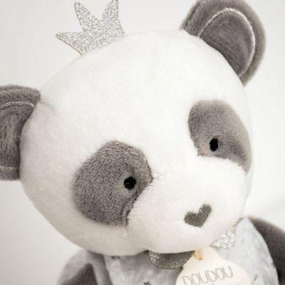 Pantin avec doudou Panda Attrape-rêves Doudou et Compagnie Couronne