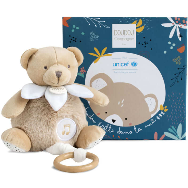 Peluche musicale ours luminescent Unicef Produit