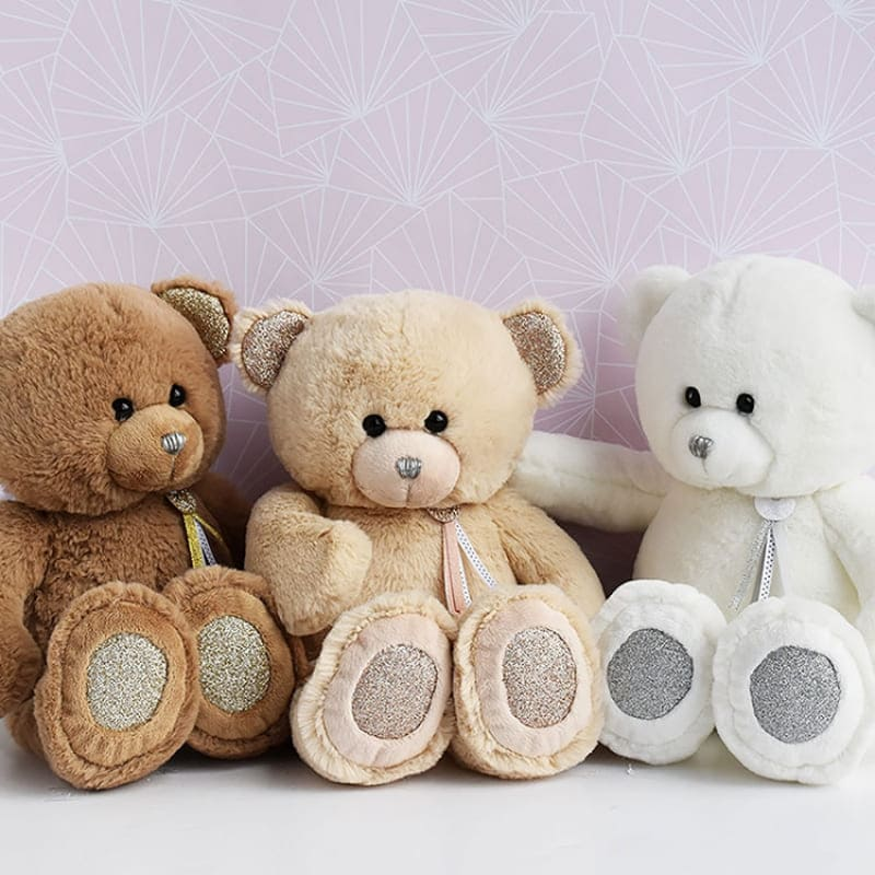 Peluche Ours Charms Marron 24 cm Histoire d'Ours Ambiance