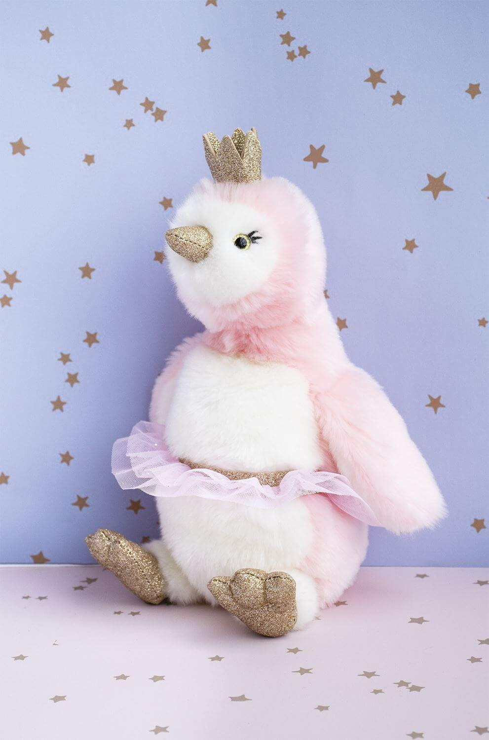 Peluche pigloo rose 30 cm Histoire d'Ours 2