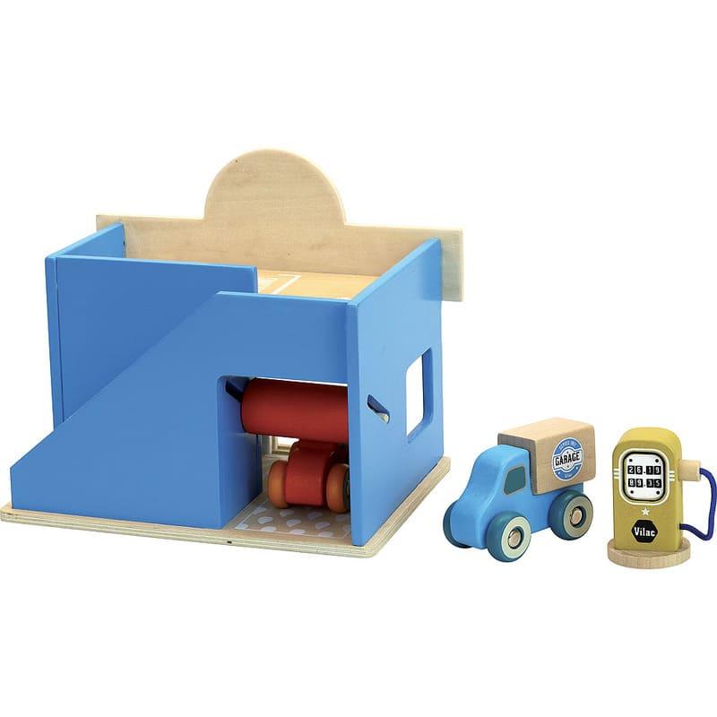 Le petit garage Vilacity Vilac Détail